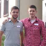 Andreas Teuschel und Stefan Krost, Gesundheits- und Krankenpfleger