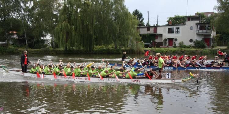 Der Gießener Drachenbootcup 2014