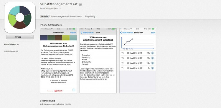 """SelbstManagementTest""-App"