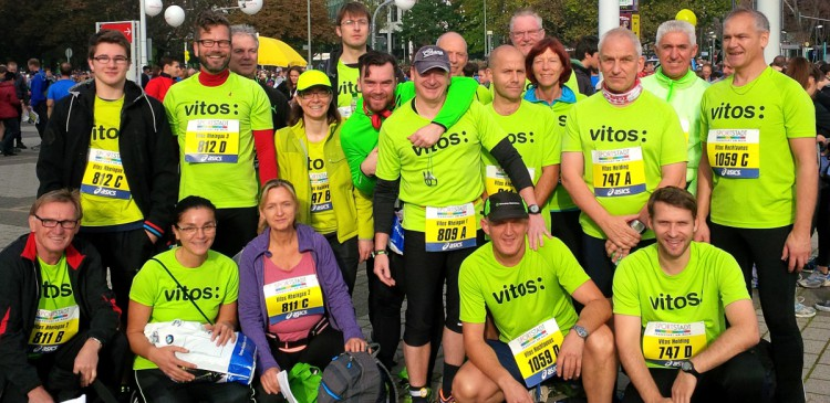 Vitos stark beim Frankfurt Marathon