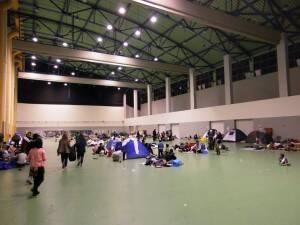 Flüchtlingslager Galatsi