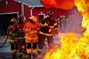 Viele Serienbrandstifter träumen von einem Job bei der Feuerwehr