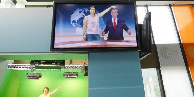 Hinter den Kulissen des ZDF