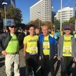 Vitos beim Frankfurt Marathon