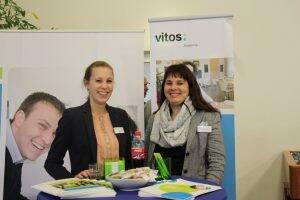 Standen Rede und Antwort – Ann-Catrin Tobelander und Melanie Scheele