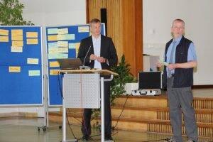 Dr. Balazs Szathmary und Dr. Rafael Sambale