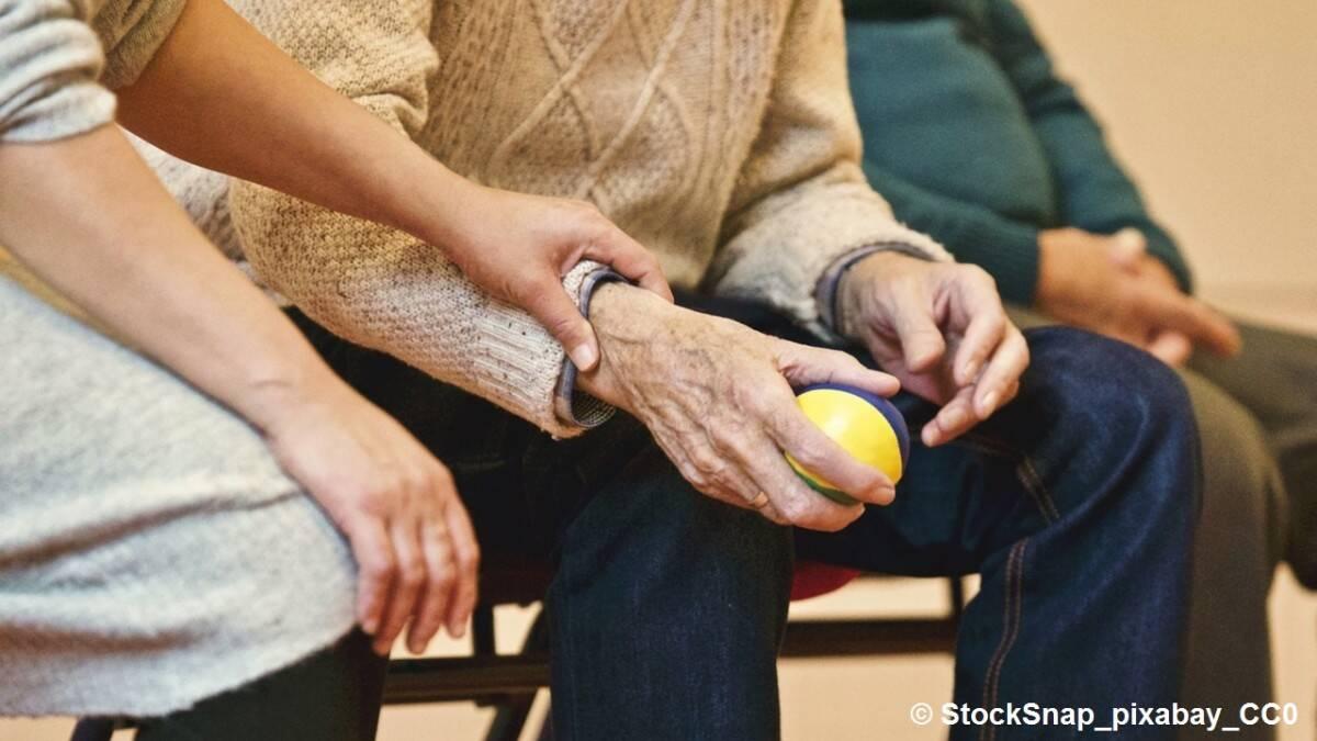 Im Umgang mit dementen Menschen ist viel Geduld gefragt