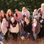 Zwölf der 14 Schüler, die ihre Ausbildung bei der Vitos Schule für Gesundheitsberufe Mittelhessen am Standort Weilmünster starten