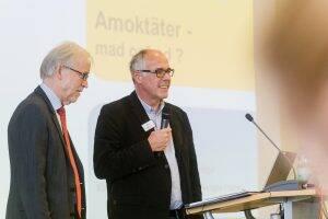 Dr. Rolf Speier und Dr. Matthias Bender