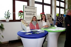 Infostand des Steinbeis-Transfer-Instituts Studienzentrum Marburg