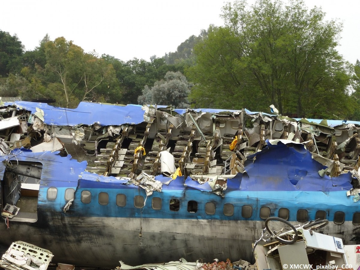 Das Miterleben eines Flugzeugabsturzes kann die psychischen Ressourcen überfordern