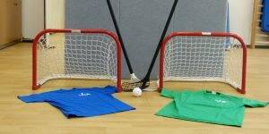 Hockeygruppe Kinder und Jugendpsychiatrie