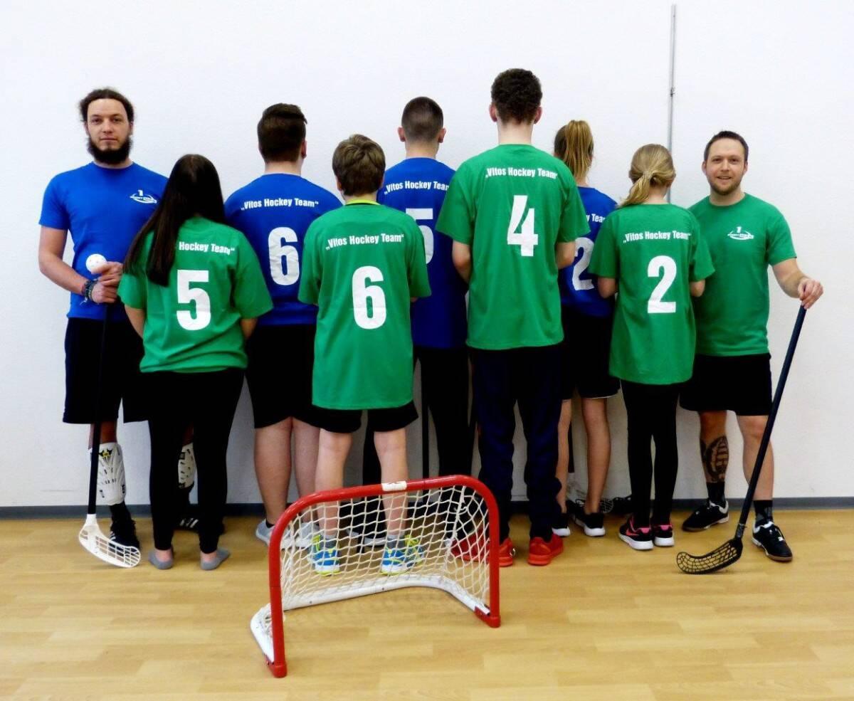 Unsere schicken neuen Hockey-Shirts