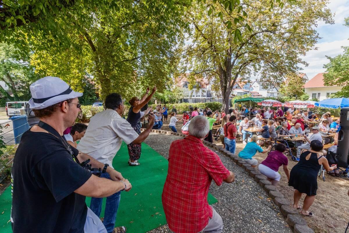 Gemeinsam aktiv beim Sommerfest