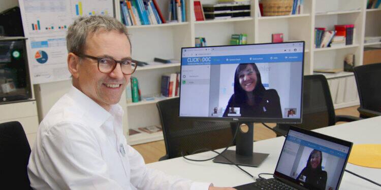 Teletherapie: Behandlung am Bildschirm