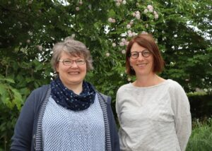 Silvia Menzel und Petra Sonnauer